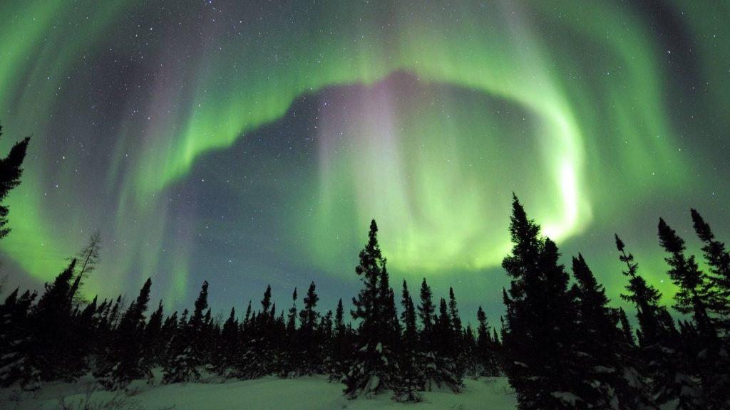 Обычный вечер на севере Аляски