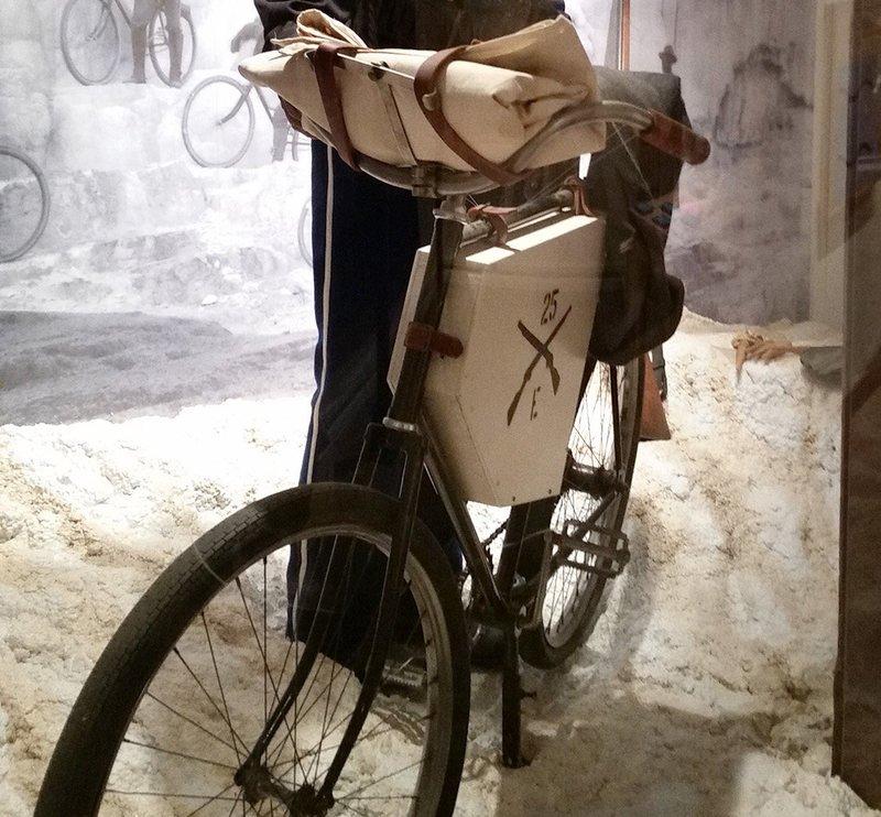 Один из тех самых велосипедов.