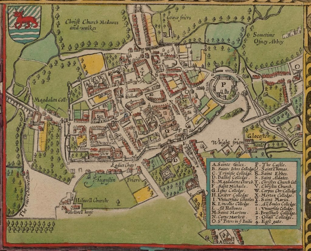 Средневековый Оксфорд