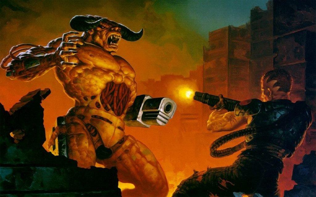 Doom Eternal Doom 2 Мнение Обзор