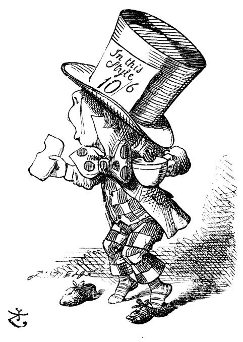 Легендарный Шляпник из книг Льюиса Кэрролла