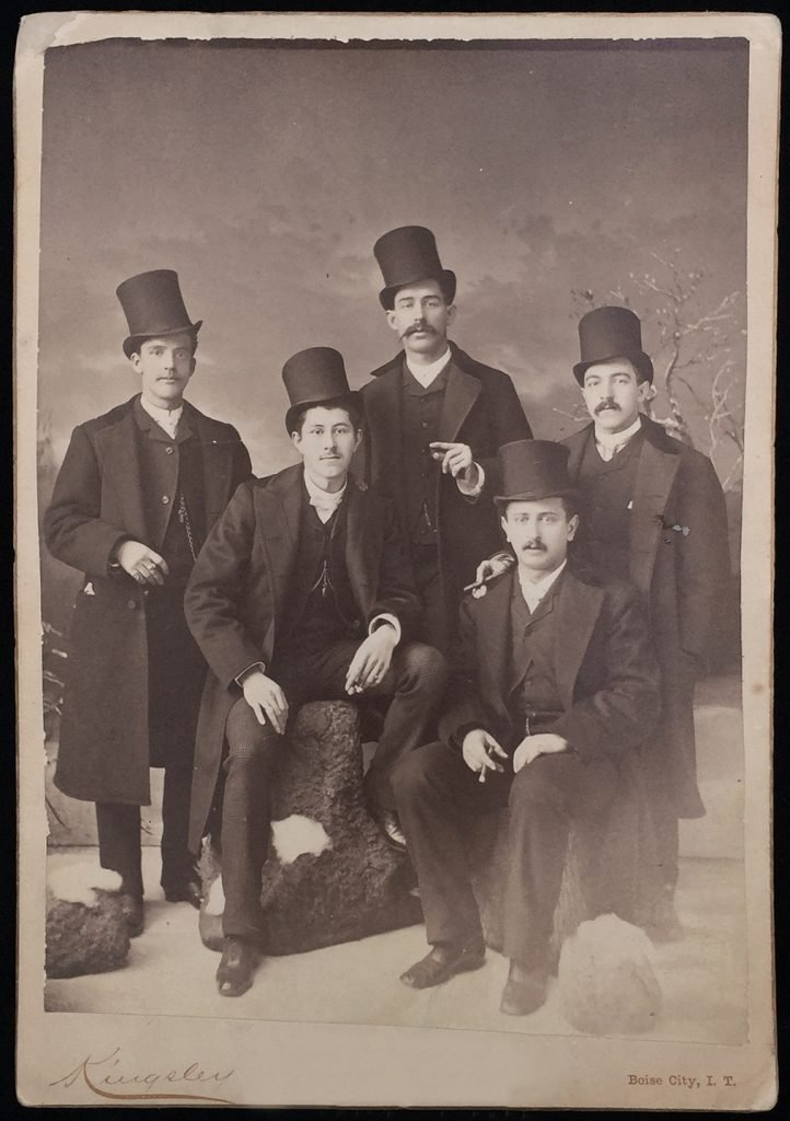 Джентльмены в бобровых шляпах