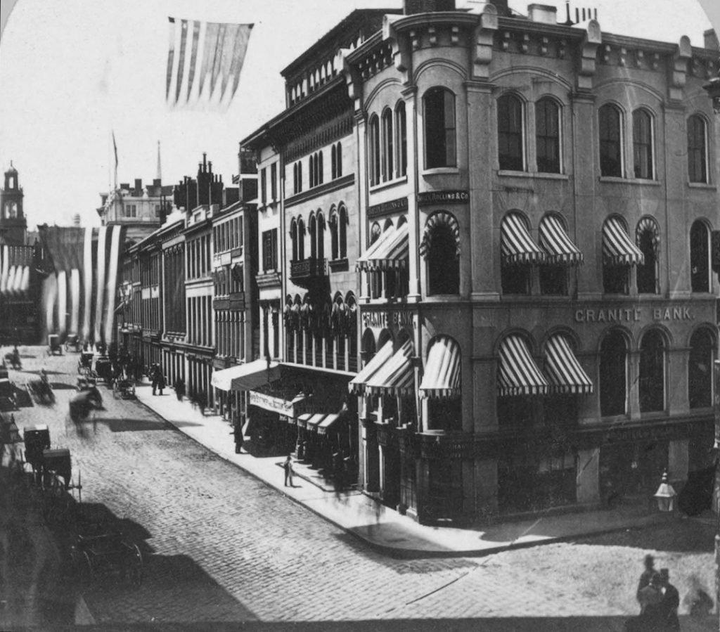 Один из подобных углов на улицах Бостона превратился для Корбетта в кафедру для проповедей.