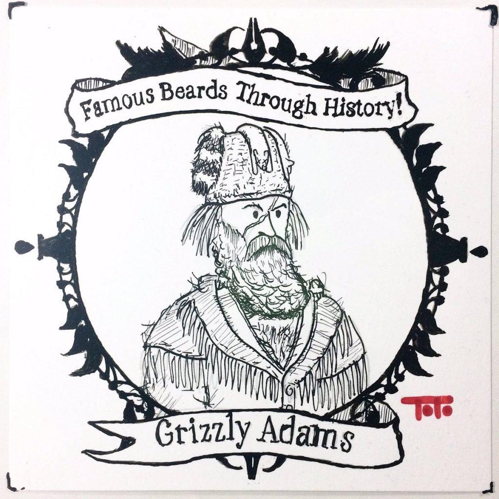 Легендарная борода Джона Адамса стала элементом фольклора на обоих побережьях