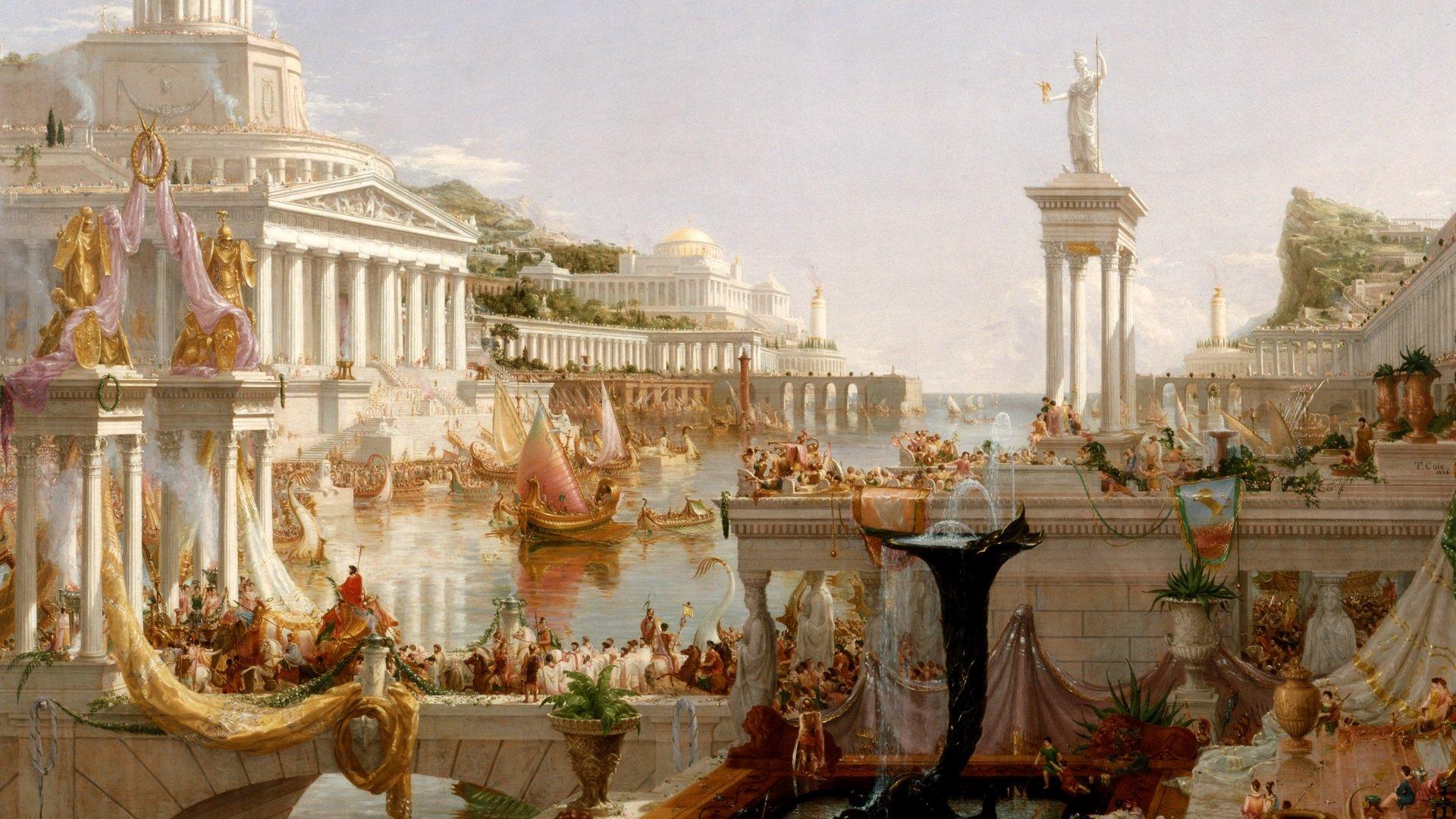 И еще дополнение: Быстрая еда, быстрый секс — каким был фастфуд в Древнем Риме