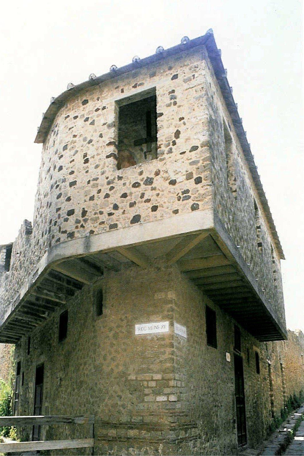 Лупанарий в Помпеях.