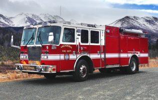 Мужчина из Аляски угнал пожарную машину, чтобы сгонять в бар под шум сирен