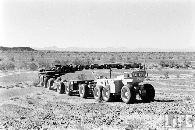 TC-497 Mark II самый длинный автопоезд в мире