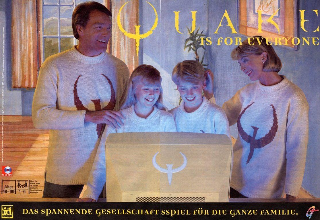 реклама quake отвратительные мужики disgusting men