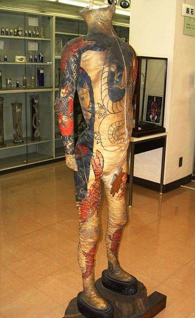 татуировки кожа фукуси масаити отвратительные мужики
