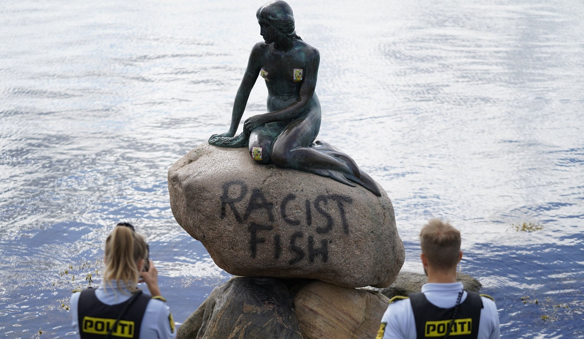 статуя русалочка копенгаген вандалы понедельник начинается с дичи