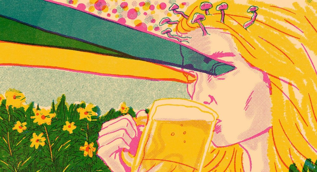 средневековое пиво с беленой отвратительные мужики