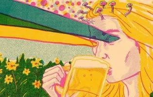 В Средние века люди были настолько суровы, что  варили пиво с галлюциногенами