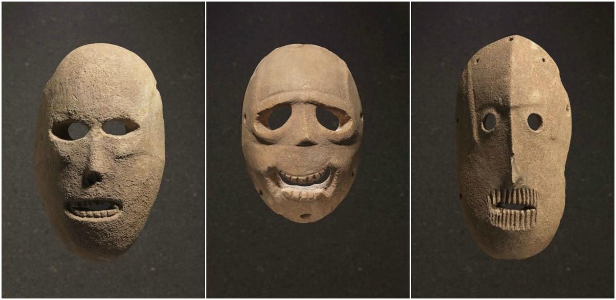 Им 9000 лет, и они чертовски жуткие! Как выглядят самые древние маски в мире