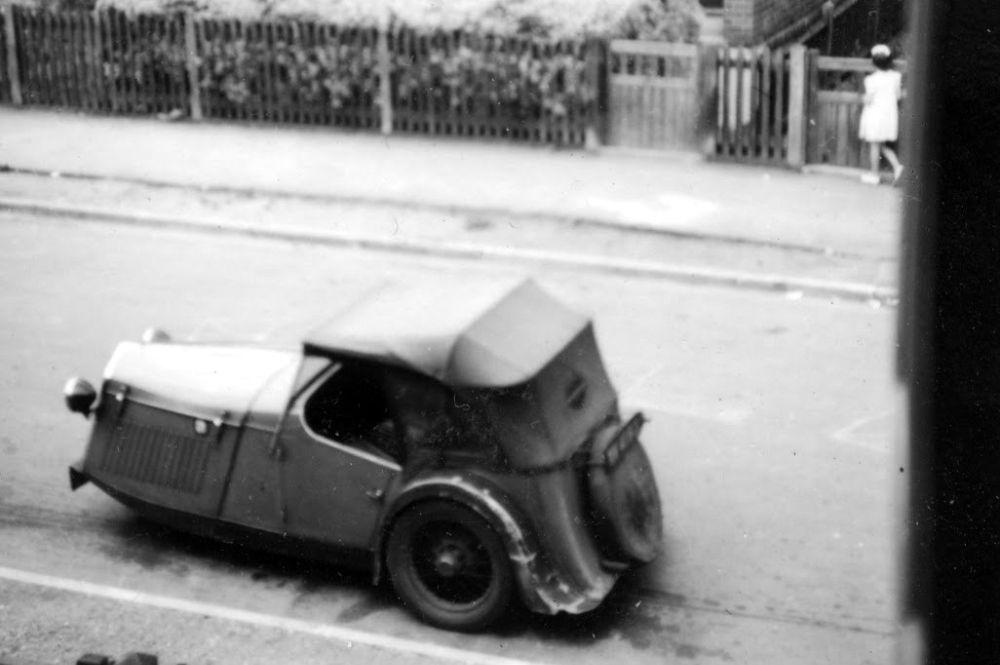 Raleigh Safety Seven самая уродливая машина отвратительные мужики