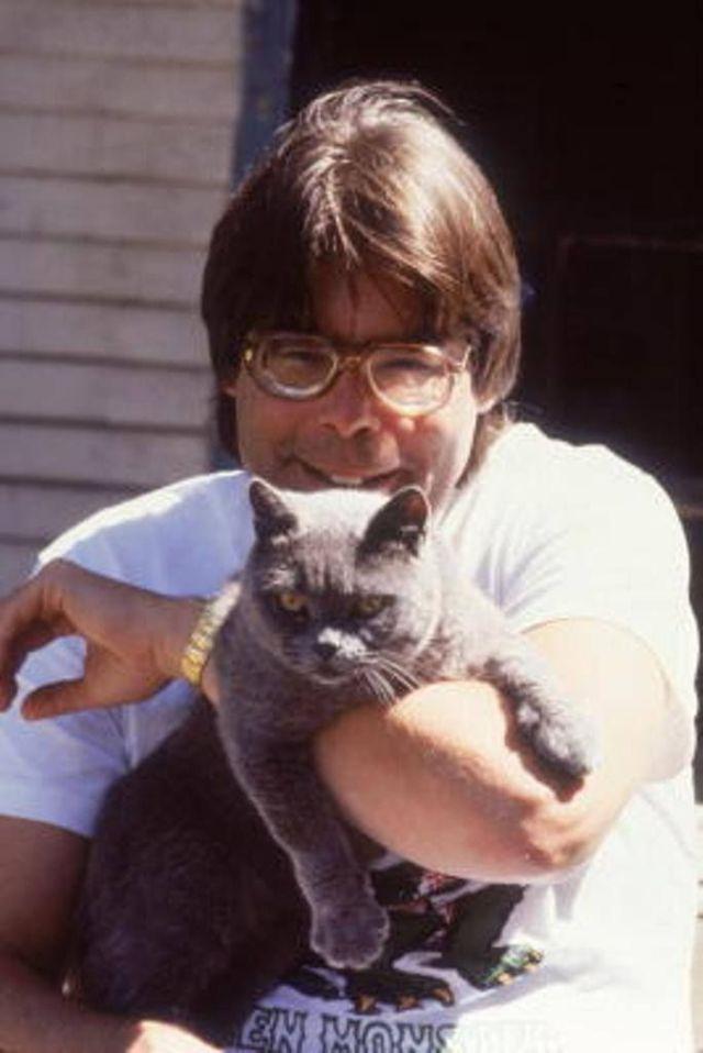фото стивен кинг и коты отвратительные мужики