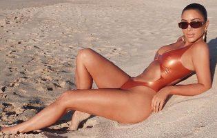 Ким Кардашьян: красавица, именинница, обладательница легендарных ягодиц