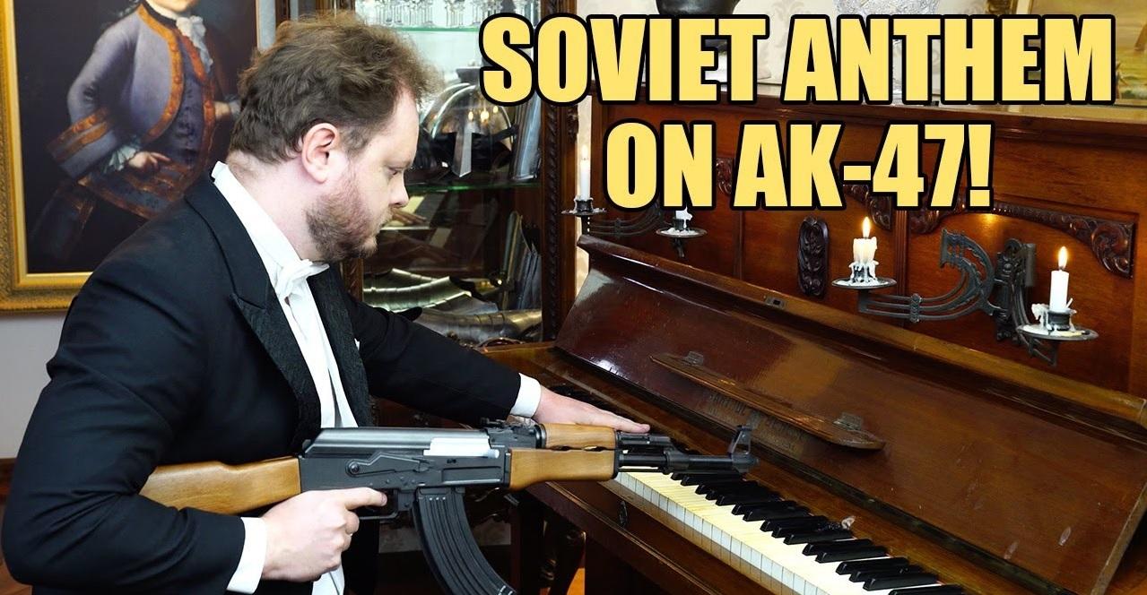 советский гимн на ak-47 пианино кавер отвратительные мужики