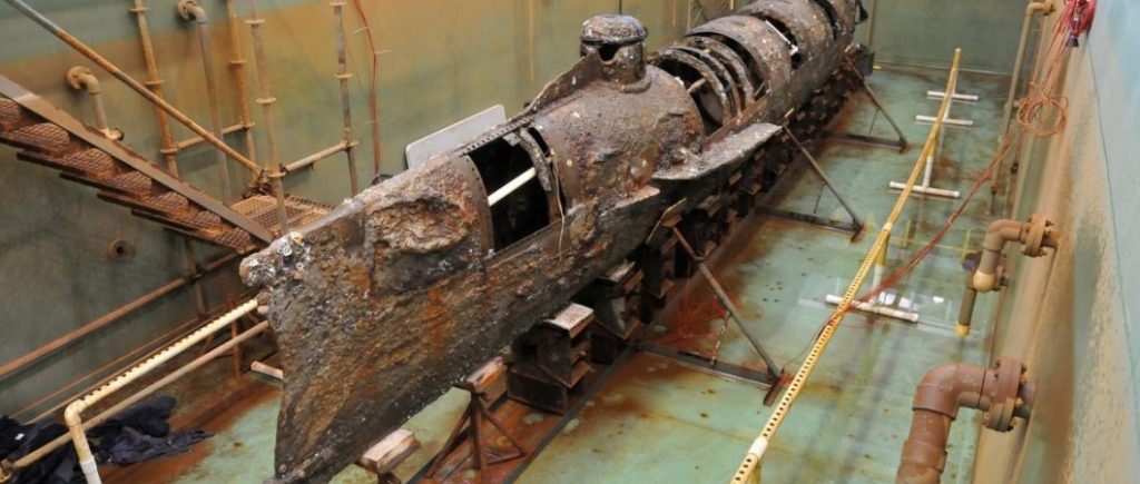 «Ханли»: как конфедераты построили первую в мире успешную подводную лодку