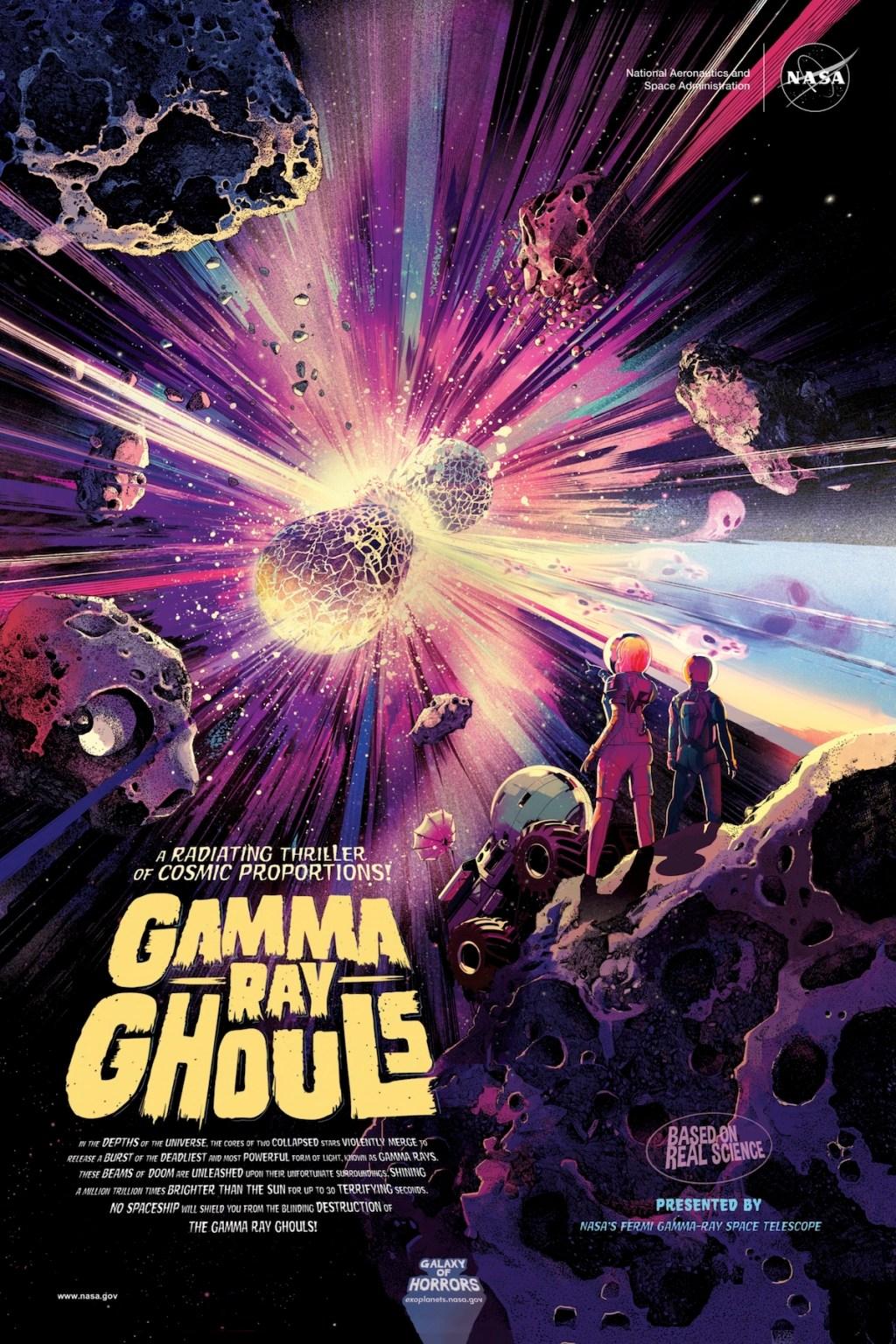 NASA постеры хоррор постеры космический хоррор NASA отвратительные мужики