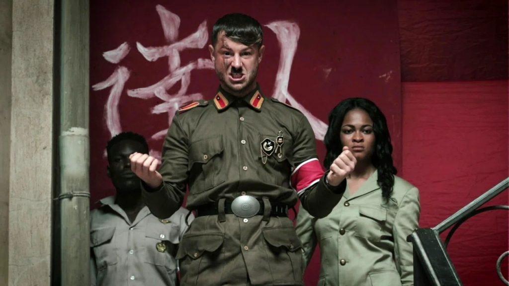 кунг-фу нацистф в африке рецензия отвратительные мужики disgusting men