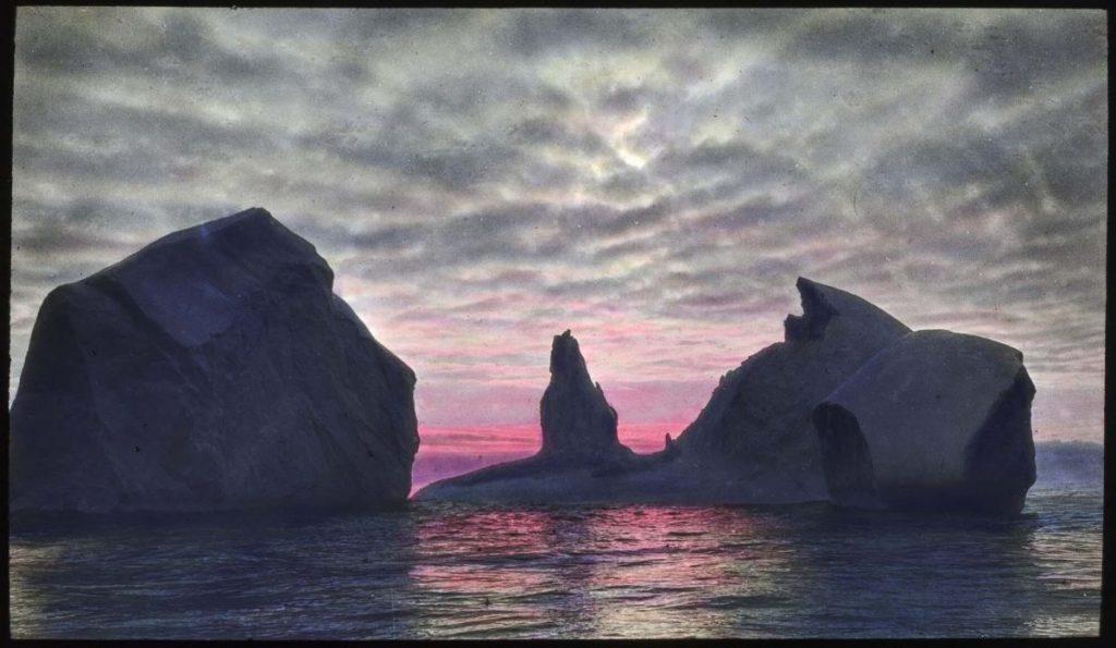 арктическое солнце фото арктика Дональд Макмилан