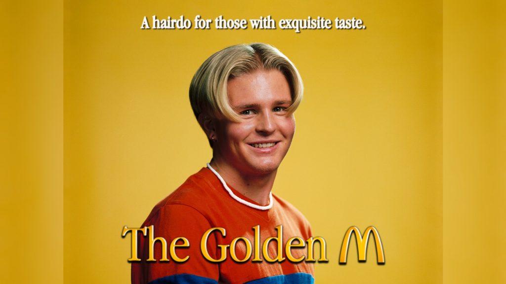 McDonald's стрижка макдоналдс прическа