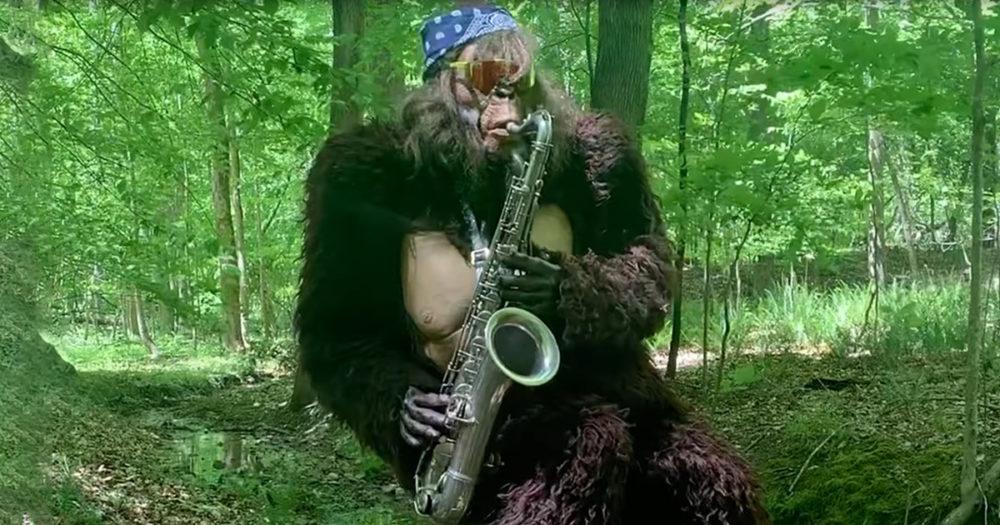 saxquatch сакскватч йети саксофон