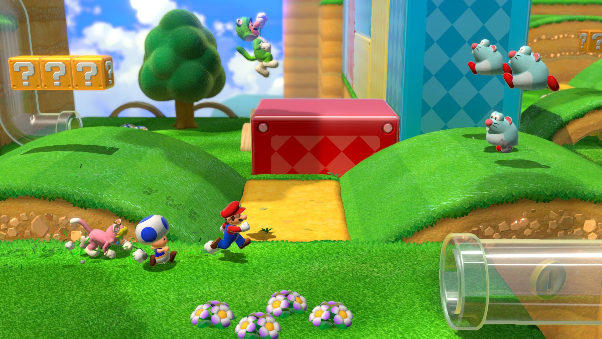 Super Mario 3D World для Switch
