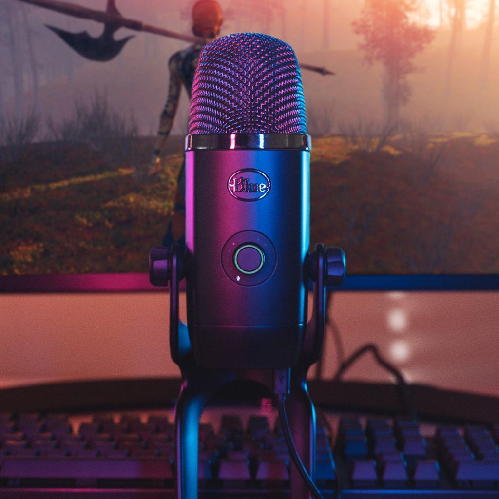 Как записать подкаст удаленно — Микрофон Blue