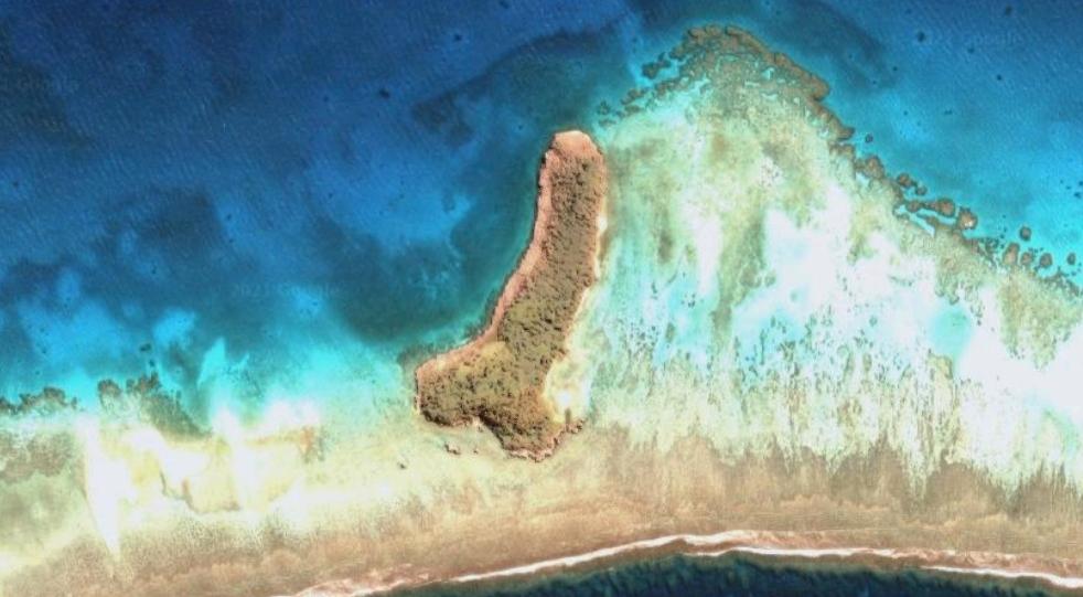 остров в форме пениса