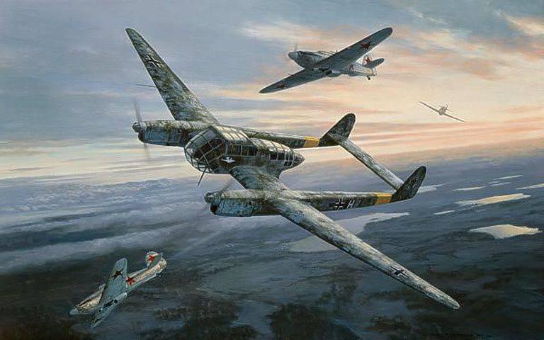 группа ровеля аэроразведка разведка третьего рейха