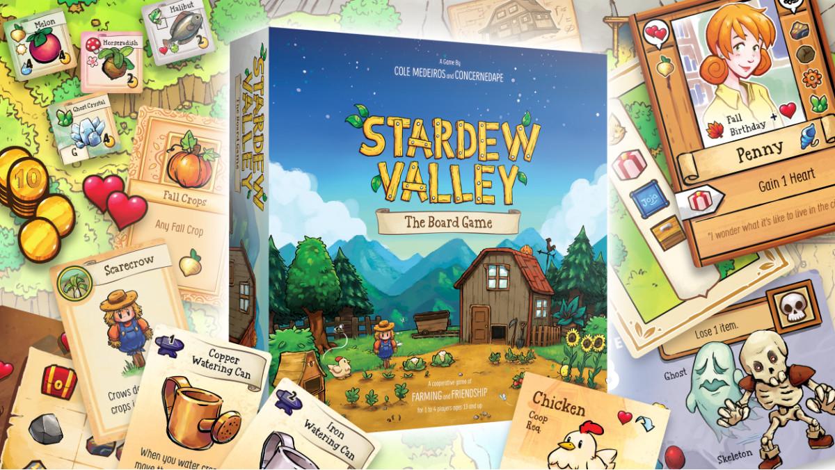 Stardew Valley настолка