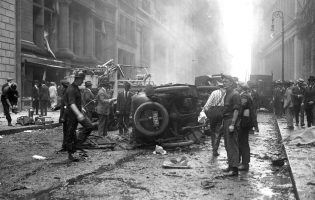 Как анархисты взорвали Уолл-Стрит в 1920 году