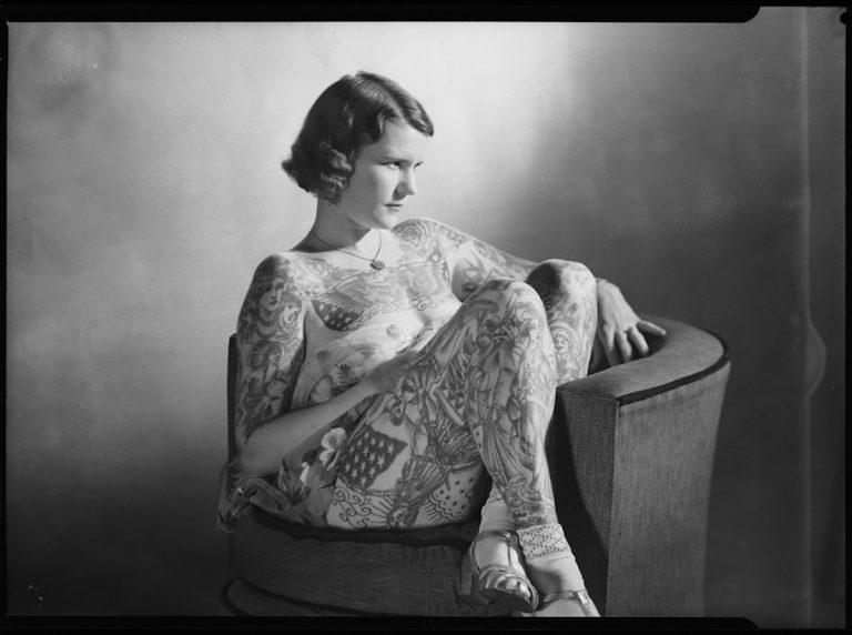 татуированная венера винтажные татуировки австралии