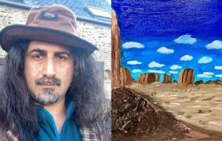«Страсть к искусству у меня в крови». Как сын бен Ладена стал художником