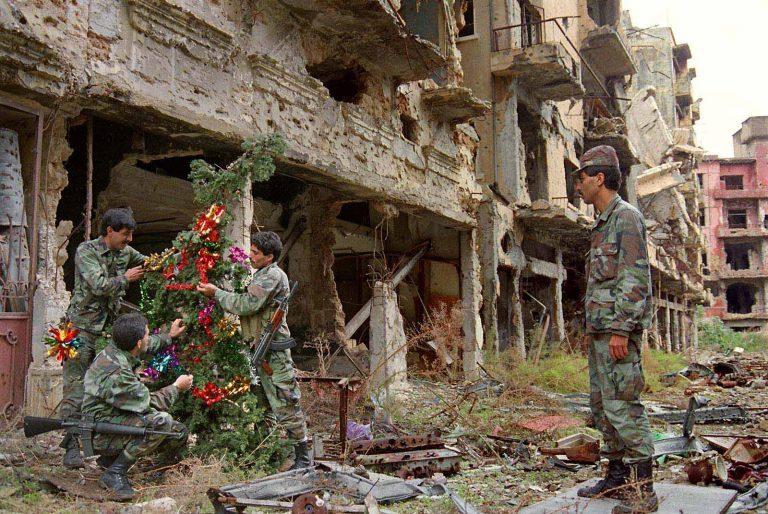 гражданская война в Ливане ливанская война фото