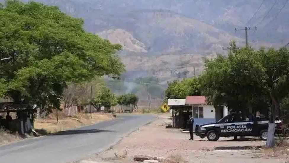 дроны со взрывчаткой мексиканские картели
