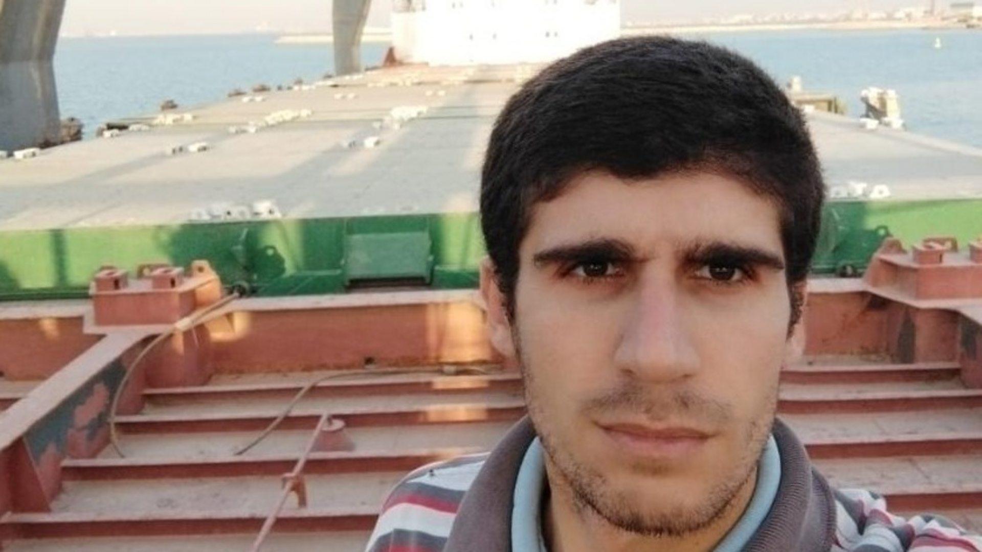 сирийский моряк заброшенное судно