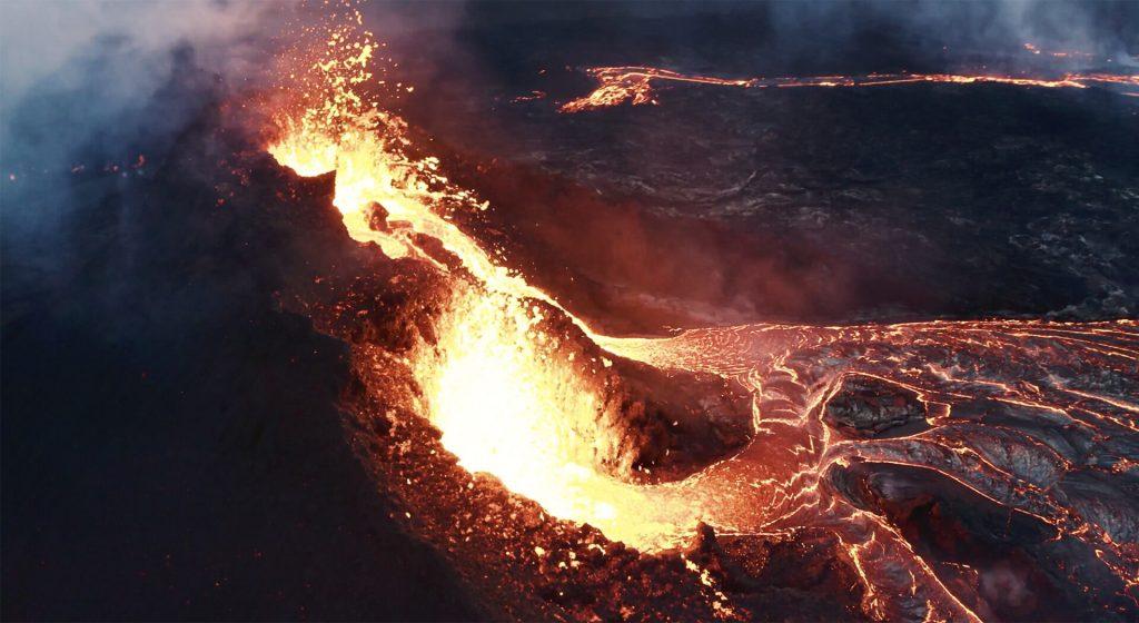 Фаградальсфьядль исландский вулкан в исландии извержение 2021