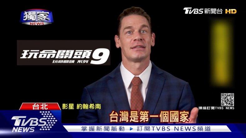 джон сина извинился перед китаем за тайвань
