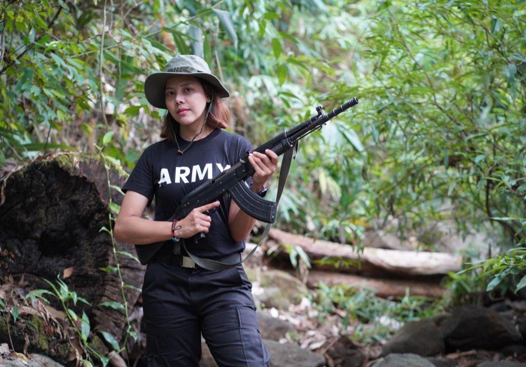 мисс мьянма Хтар Хтет Хтет партизаны