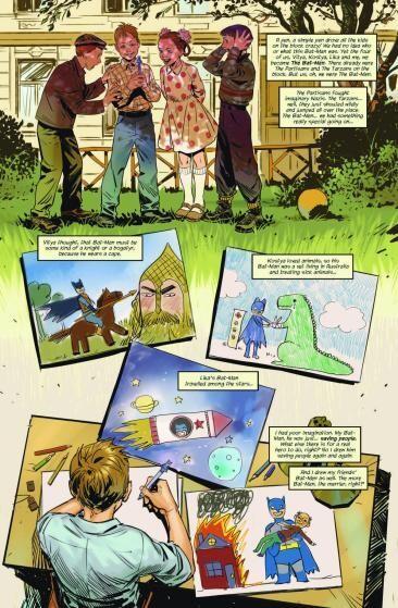 zagruzheno 1 - Авторы из России нарисовали комикс для антологии DC про Бэтмена