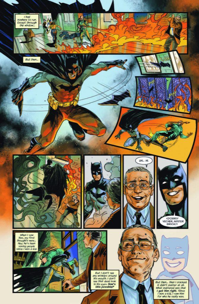 zagruzheno 2 670x1024 - Авторы из России нарисовали комикс для антологии DC про Бэтмена