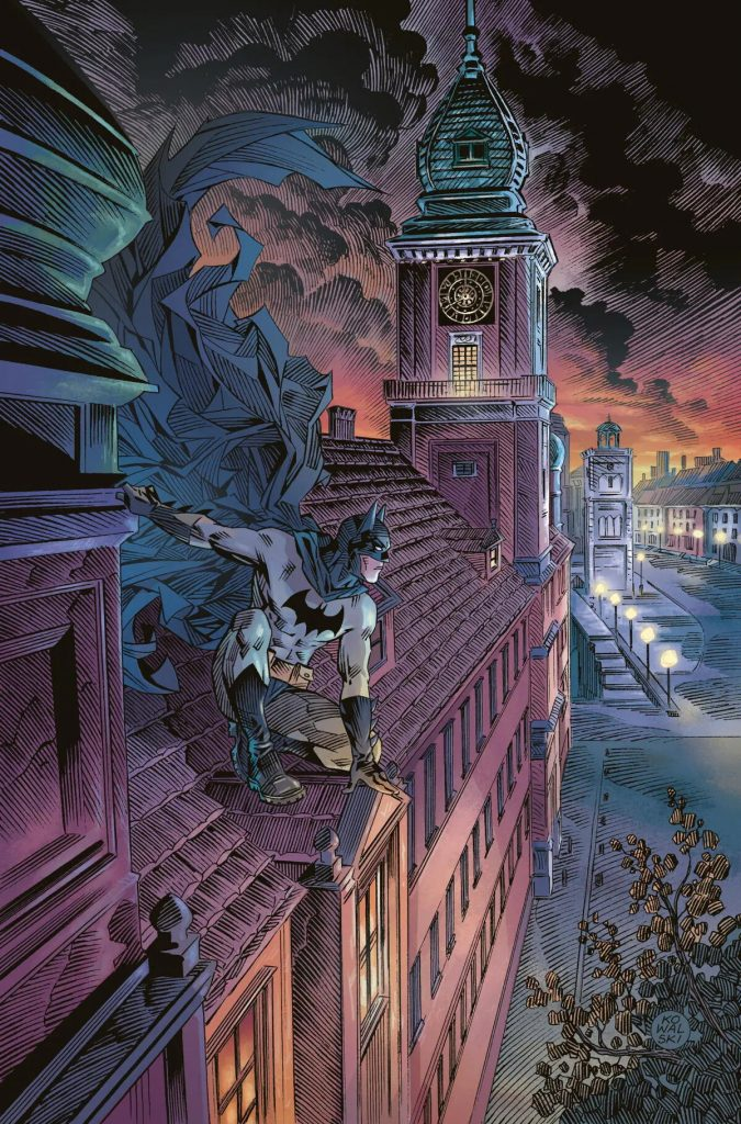 zagruzheno 7 675x1024 - Авторы из России нарисовали комикс для антологии DC про Бэтмена