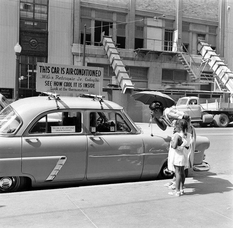 автомобильные кондиционеры история первый кондиционер