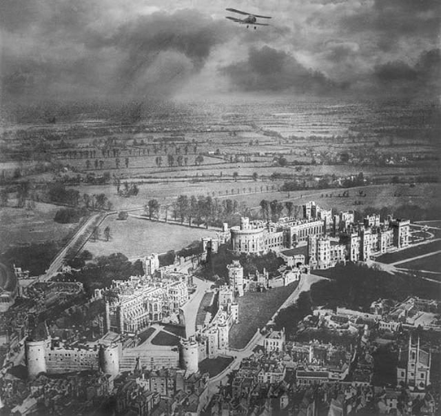 старинные фото лондона с высоты птичьего полета