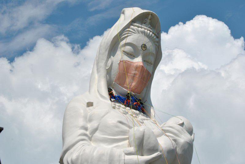 каннон буддийская богиня маска