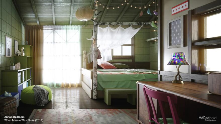 миядзаки комнаты дизайнеры студия гибли