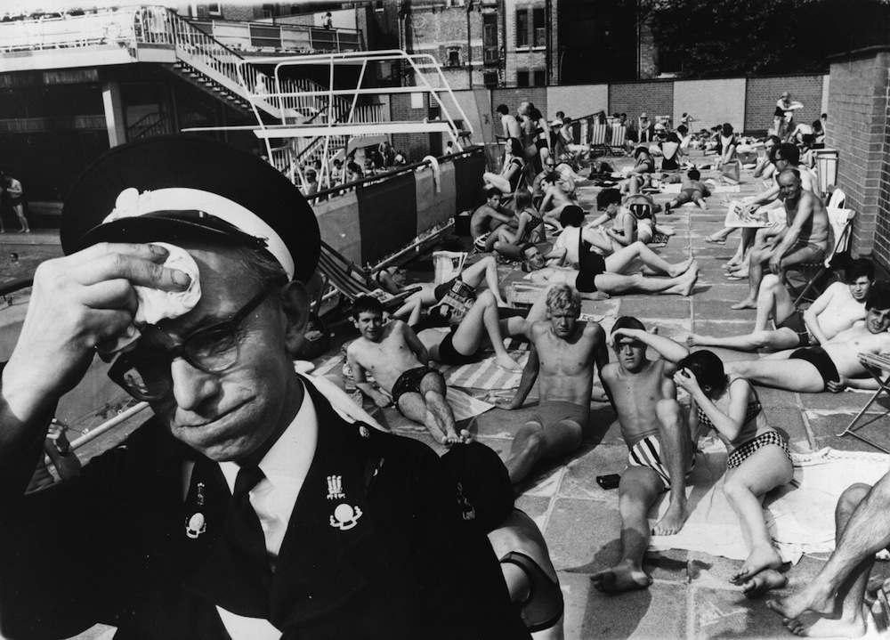 Фото: как лондонцы спасались от пекла в «Самое жаркое лето в истории»